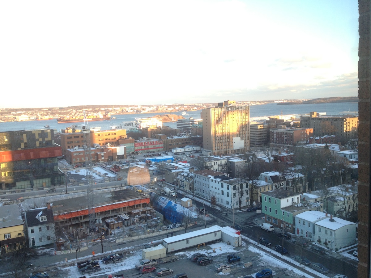 Big Downtown Halifax condo