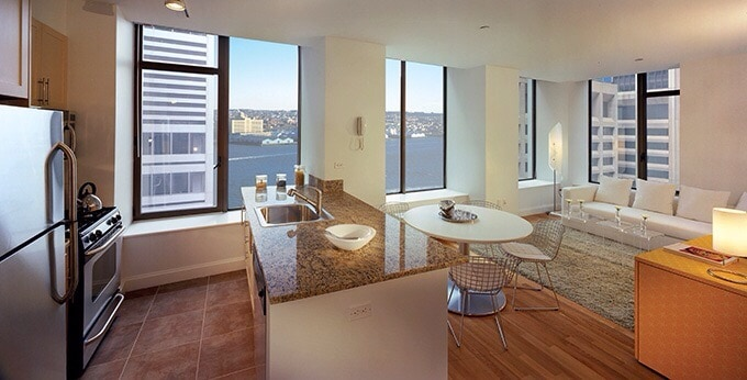 Luxury Wall Street apartment