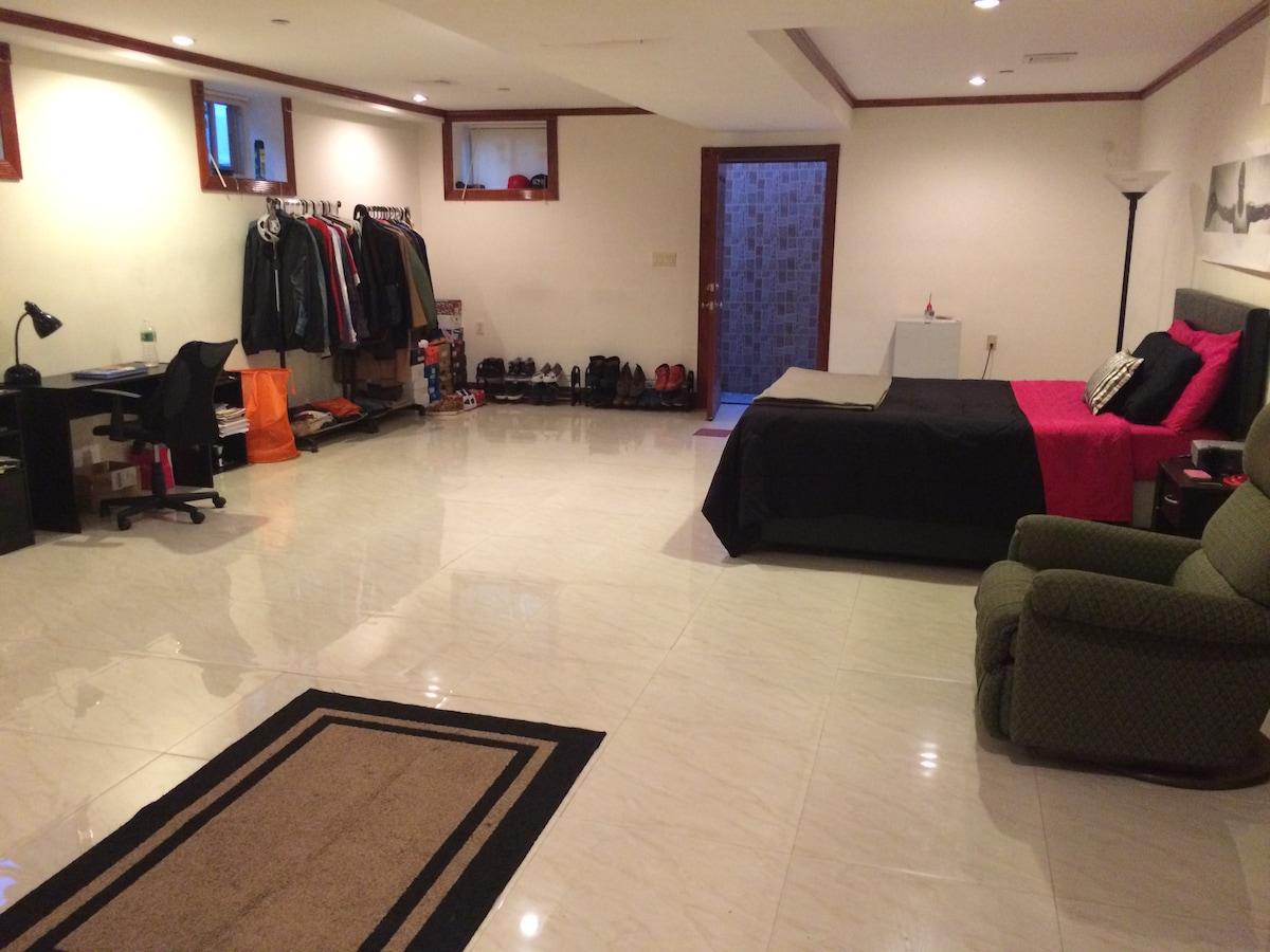 HUGE Basement Room