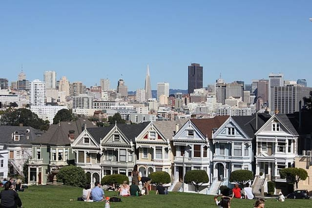 Stay in the Famous Painted Ladies!