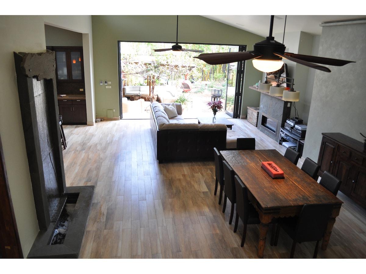 Modern family home