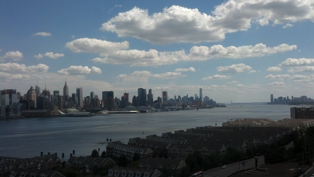 NJ/NY Hudson River - 1 Bedroom