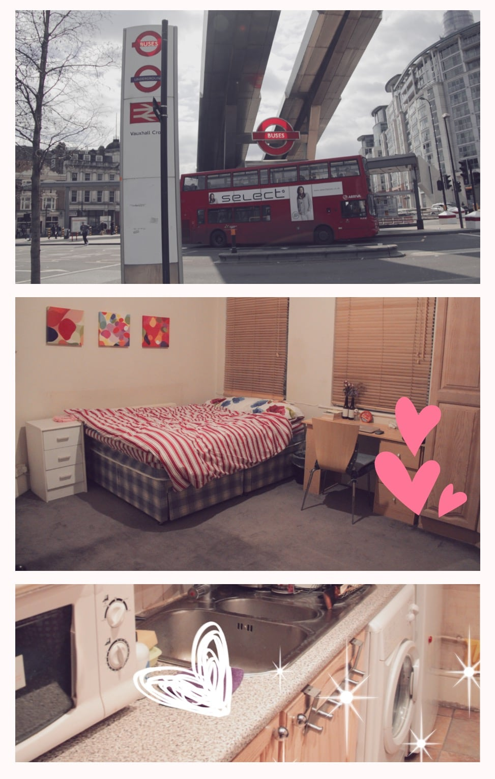 Central London Vauxhall Zone1 room