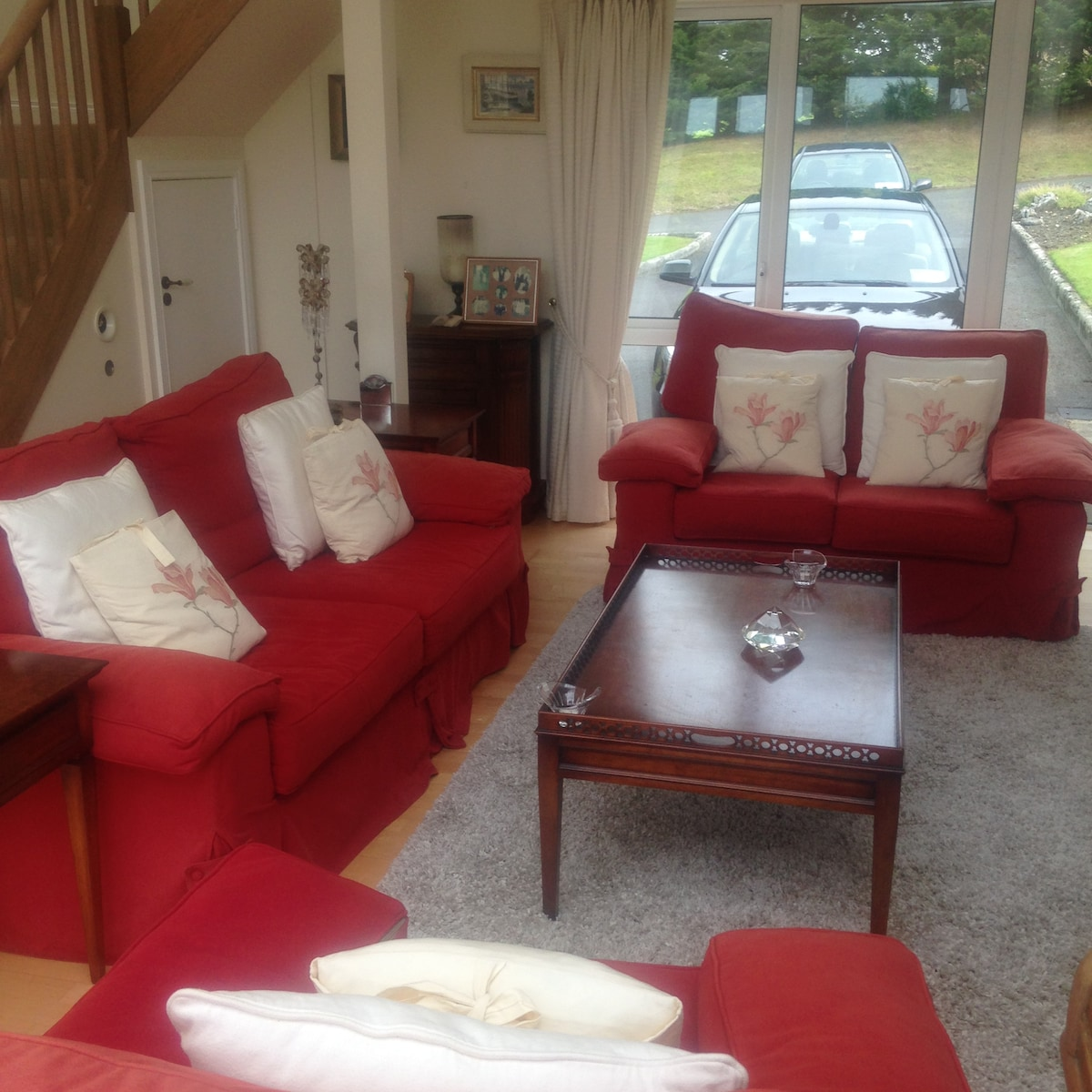 Spacious double room in the country