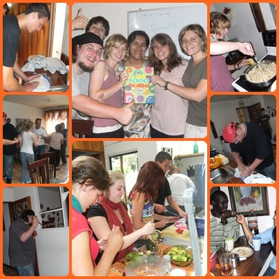 Learning to dance, make some guacamole ,tortillas, and speak Spanish