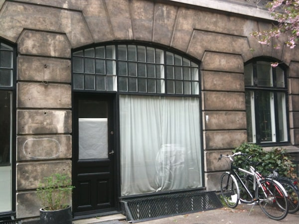Exterior storefront and entrance view