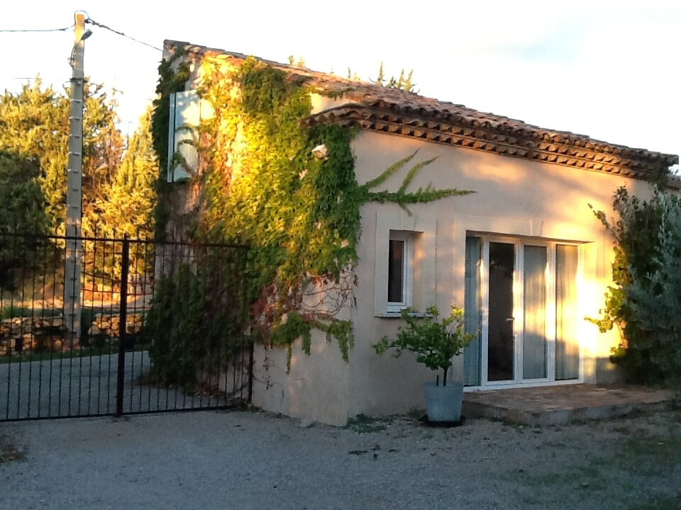 Gatehouse in a village