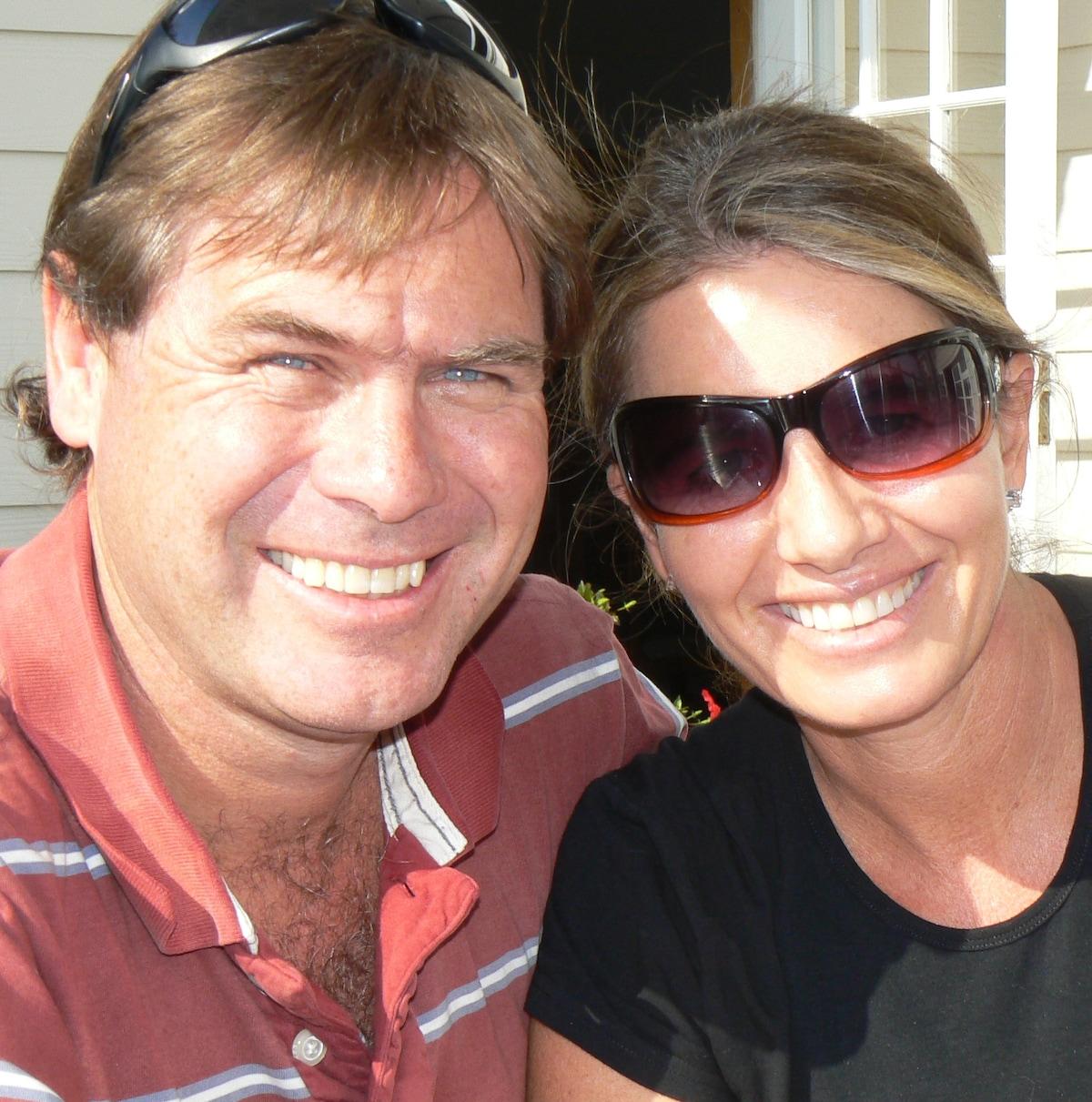 Ian & Sharon Baines from Swakopmund