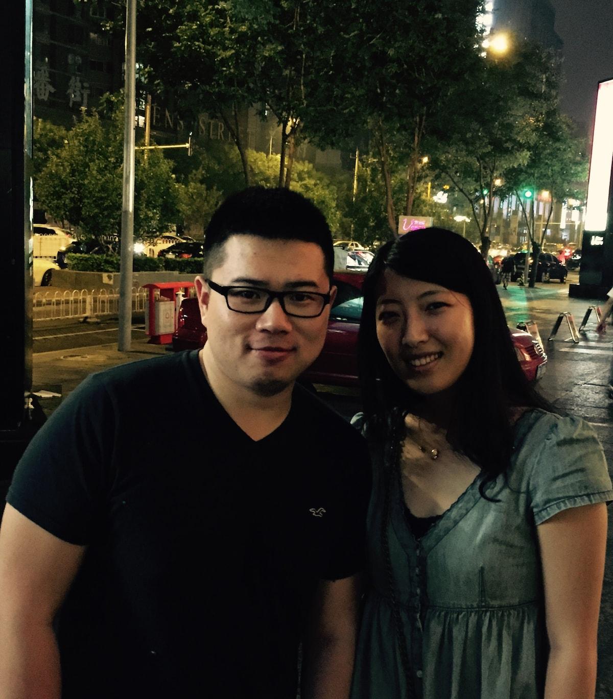 Nathan & May From Beijing, China