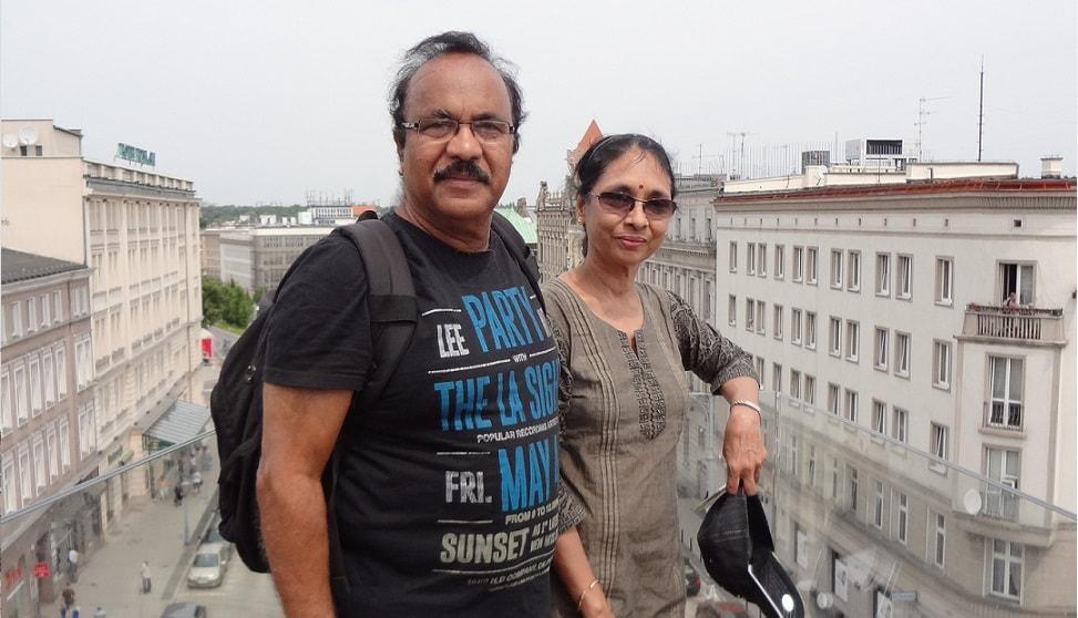 Balaji Rao from Hyderabad