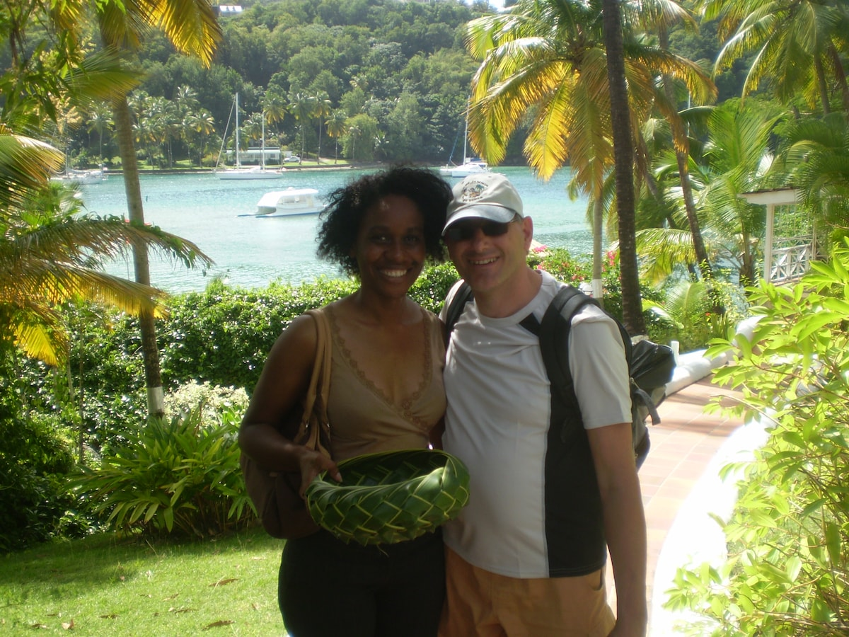 I am a certified tour guide for St. Lucia. I love
