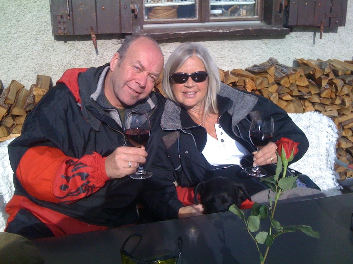Inger & Helmut from Saas-Fee