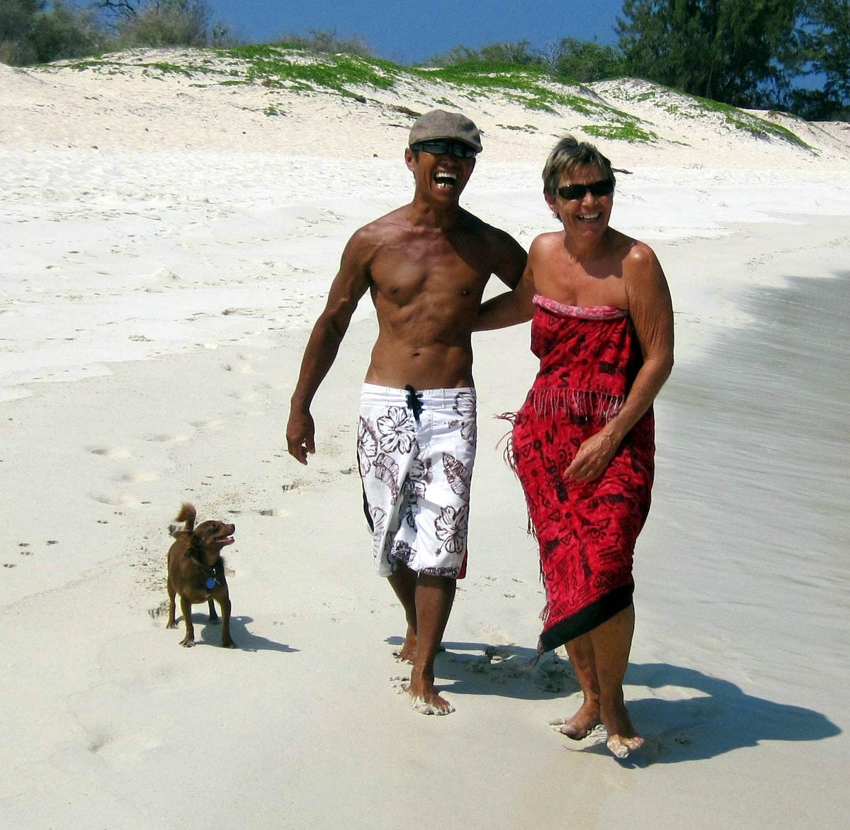Elena & Danny from Kailua-Kona