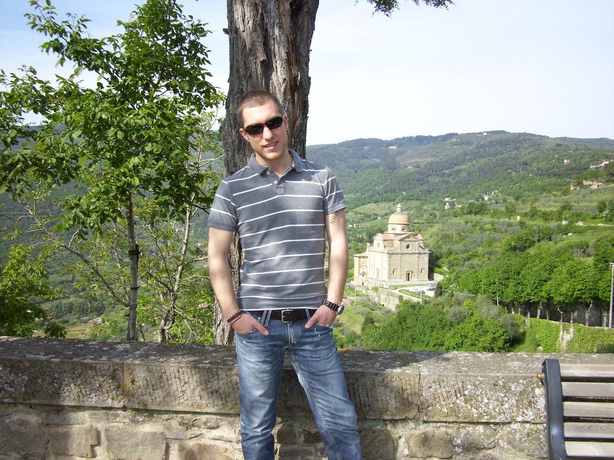 Fabio From Perugia, Italy