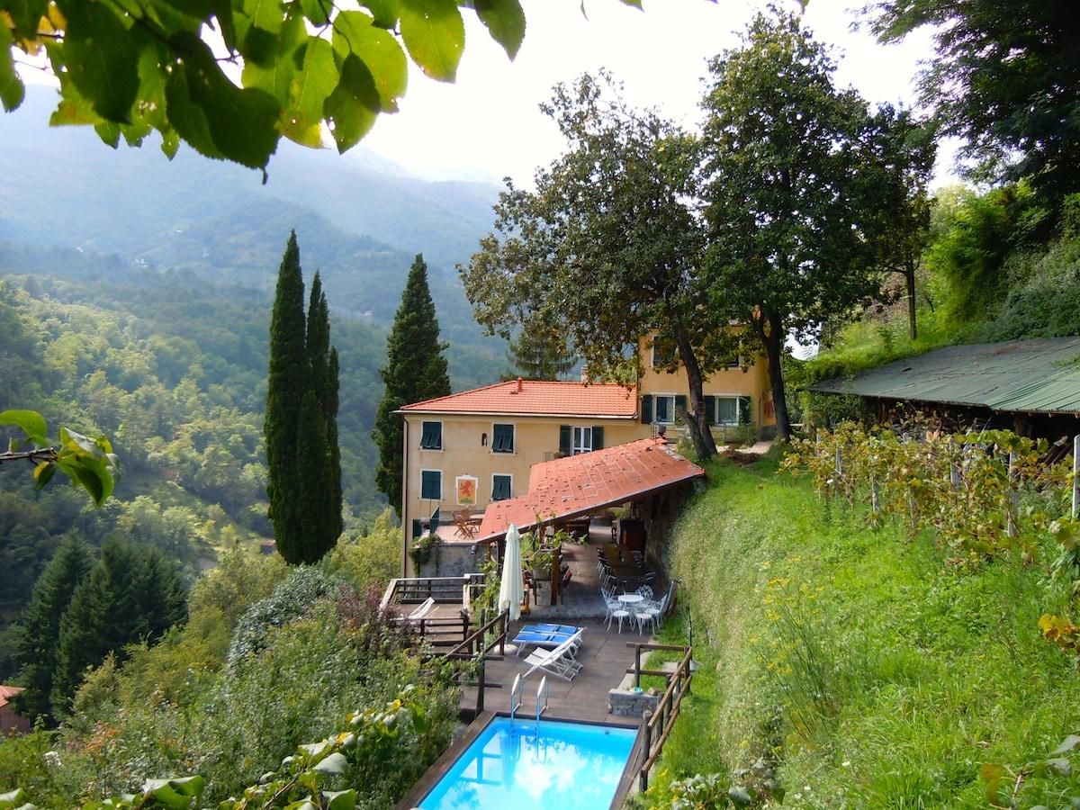 Casa Del Bosco From Leivi, Italy