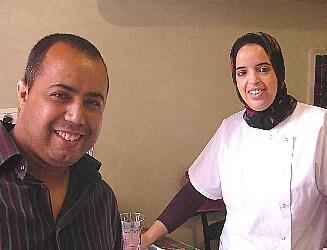 bonjour, Mon nom est Hafida, je suis marocaine et