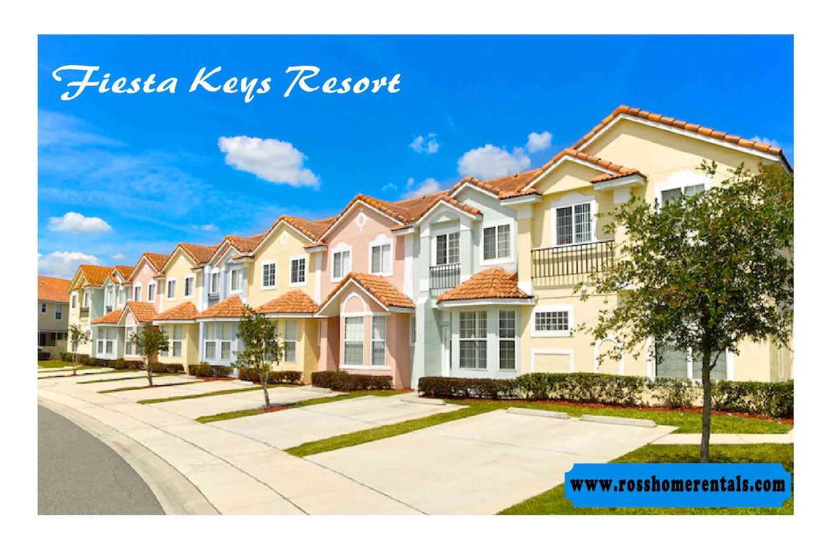I host three beautiful townhouses in Kissimmee Flo