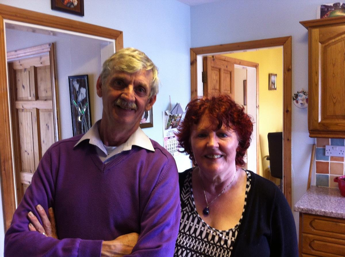 Caroline & Mick from Shantalla