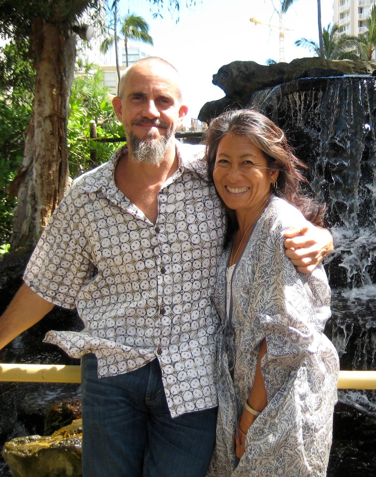 Lori And Tunji from Haleiwa