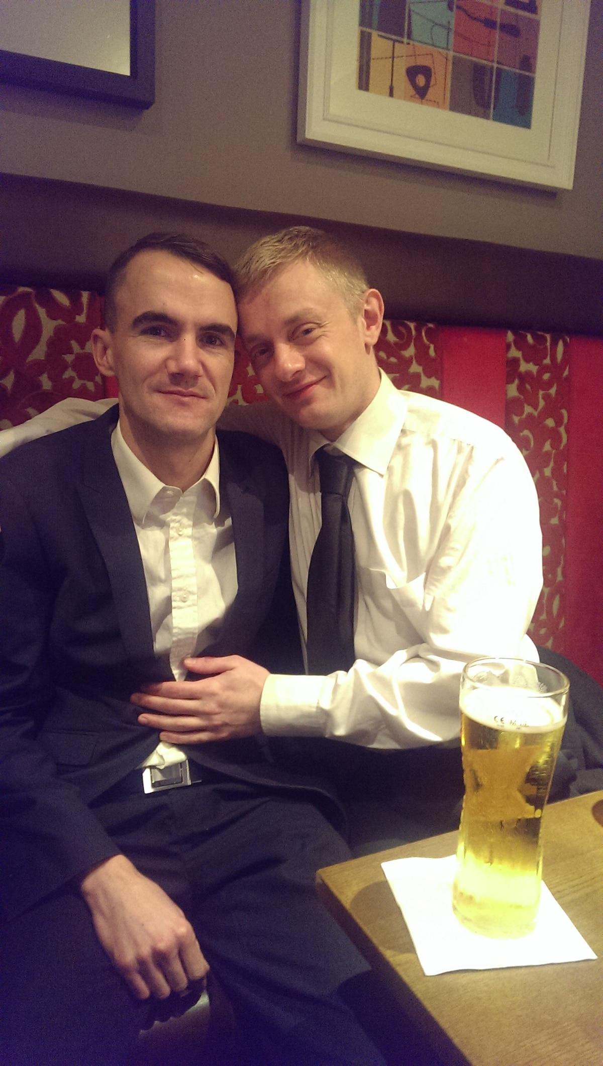 Dan & Garry from Glasgow