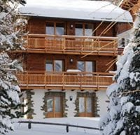 Chalet from Saas Fee