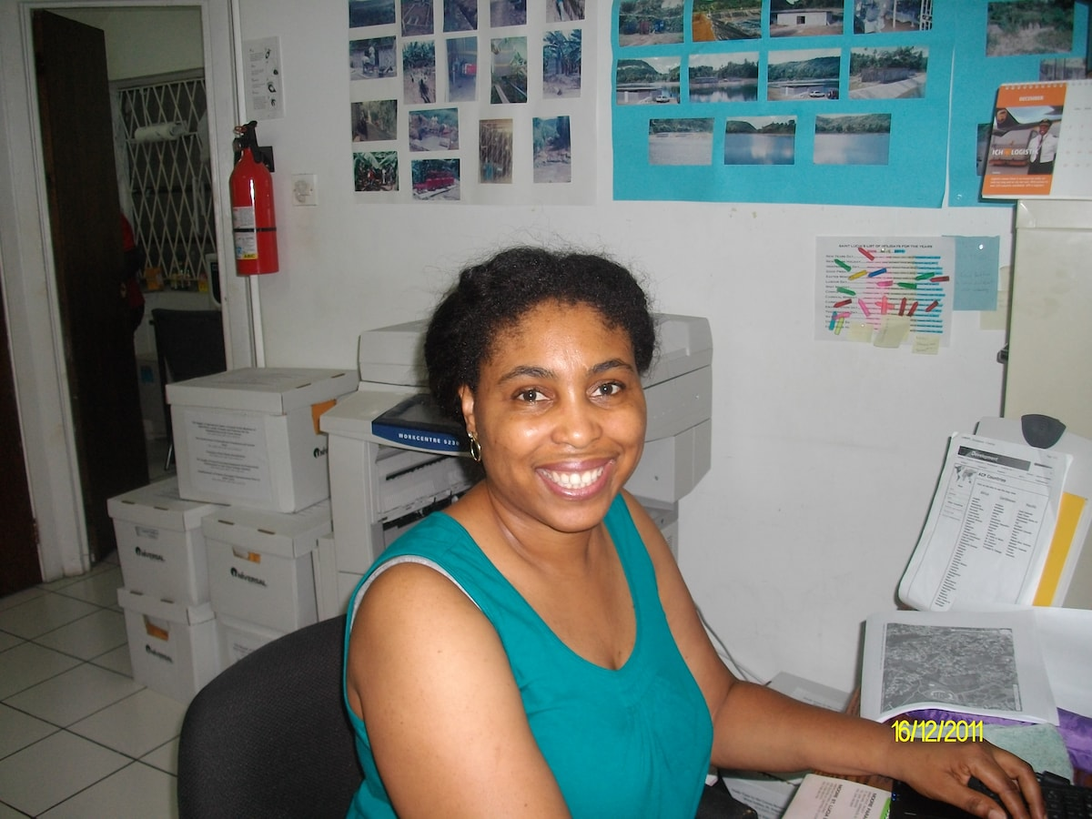 Lucy From Gros Islet, Saint Lucia