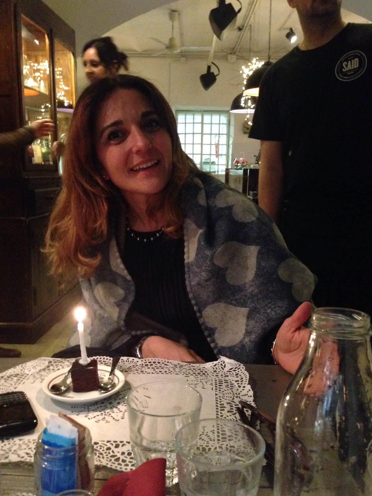 Maria Grazia from Roma