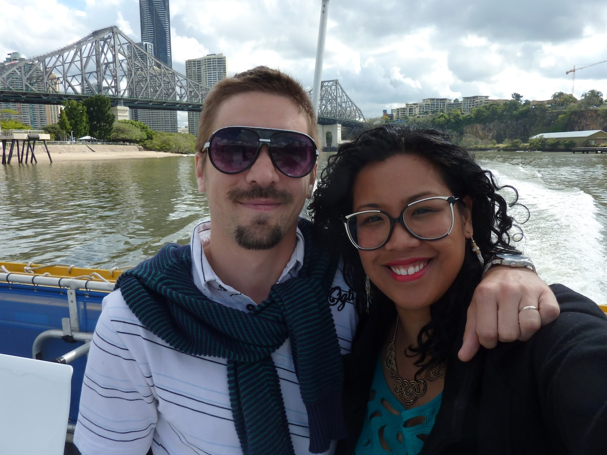 Richelle And Grégory from Aubervilliers
