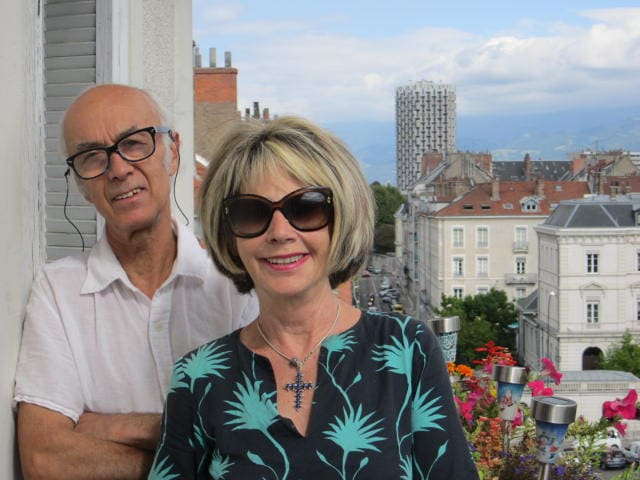 Maryvonne & Pierre From Grenoble, France