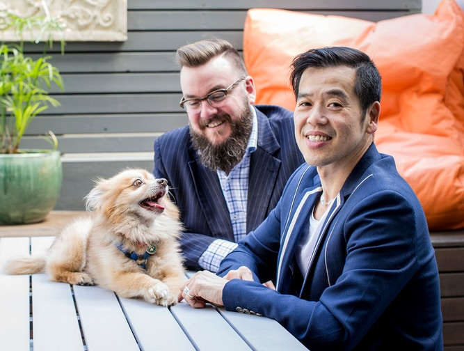Vinh+Stuart from Pyrmont