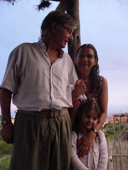 I´ve been living in Punta del Diablo with my wife,