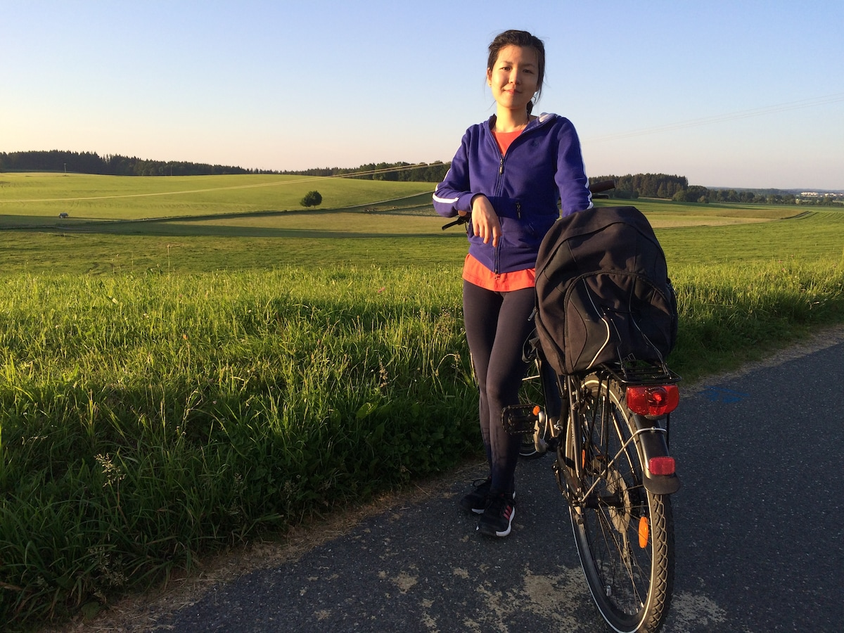 Chiung-Wen From Munich, Germany