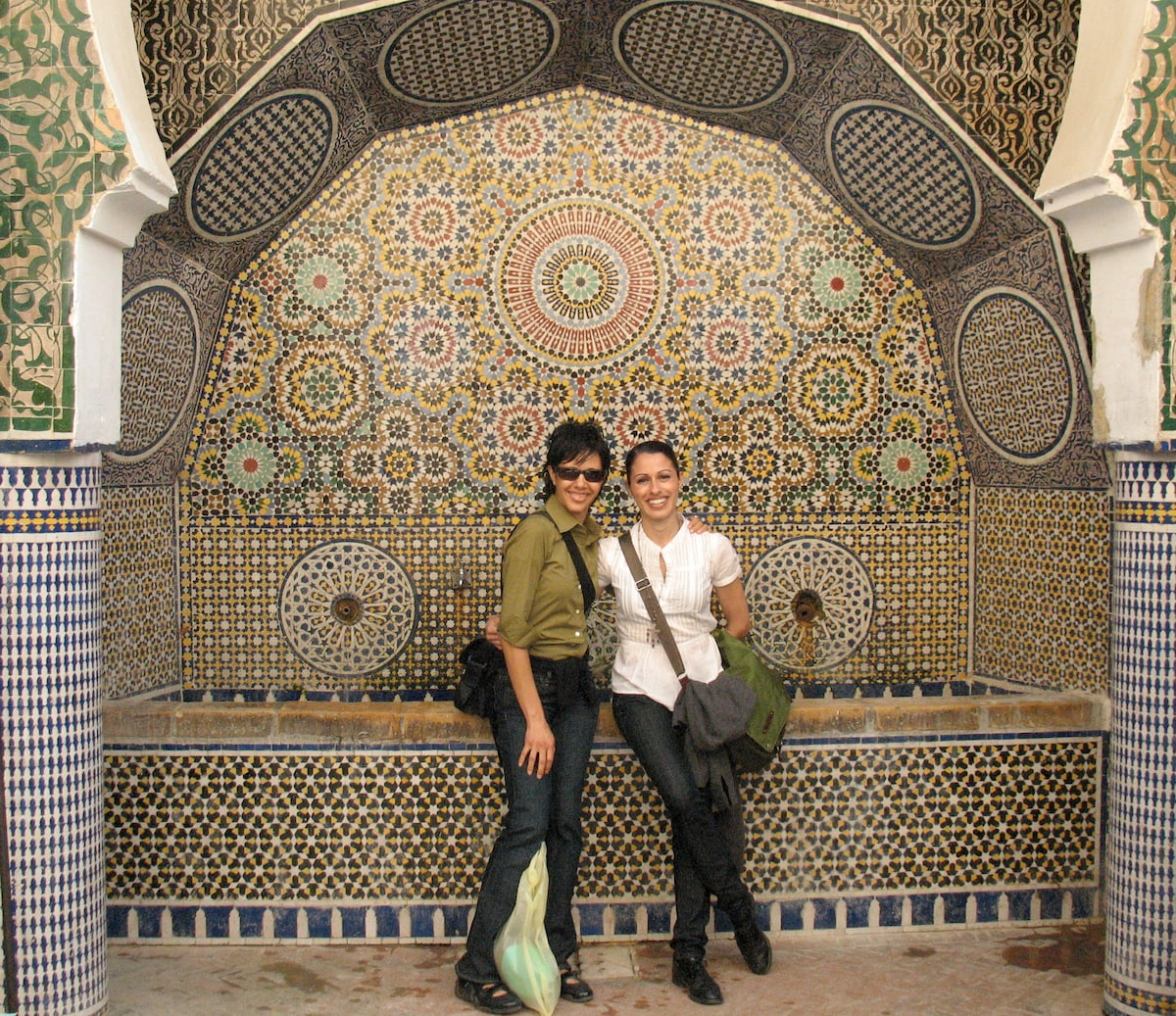 My sister Jennifer and I love to travel together a