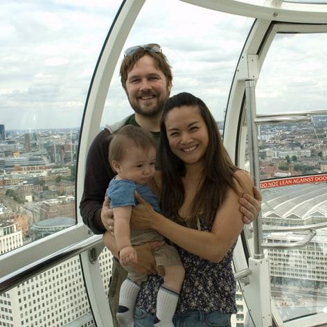 Valur, Edythe, Little Ari And Baby Haukur from Reykjavik
