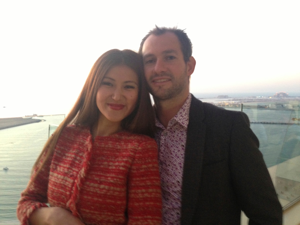 We are multi-cultural married couple: I am Kazakh,