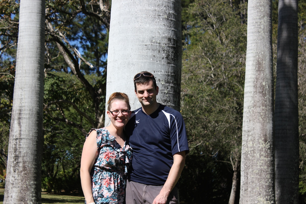 Stephanie & Marshall from Christchurch