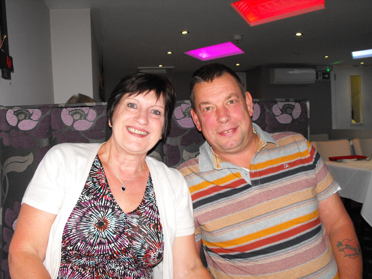 Tracey And Chris From High Peak, United Kingdom
