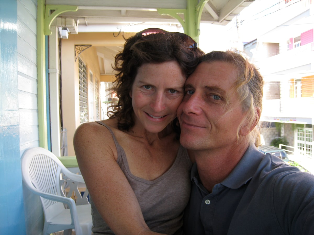 Liz And Richard from Roseau