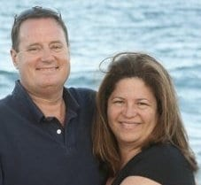 We are from Gloucester, MA, married for 27 years,