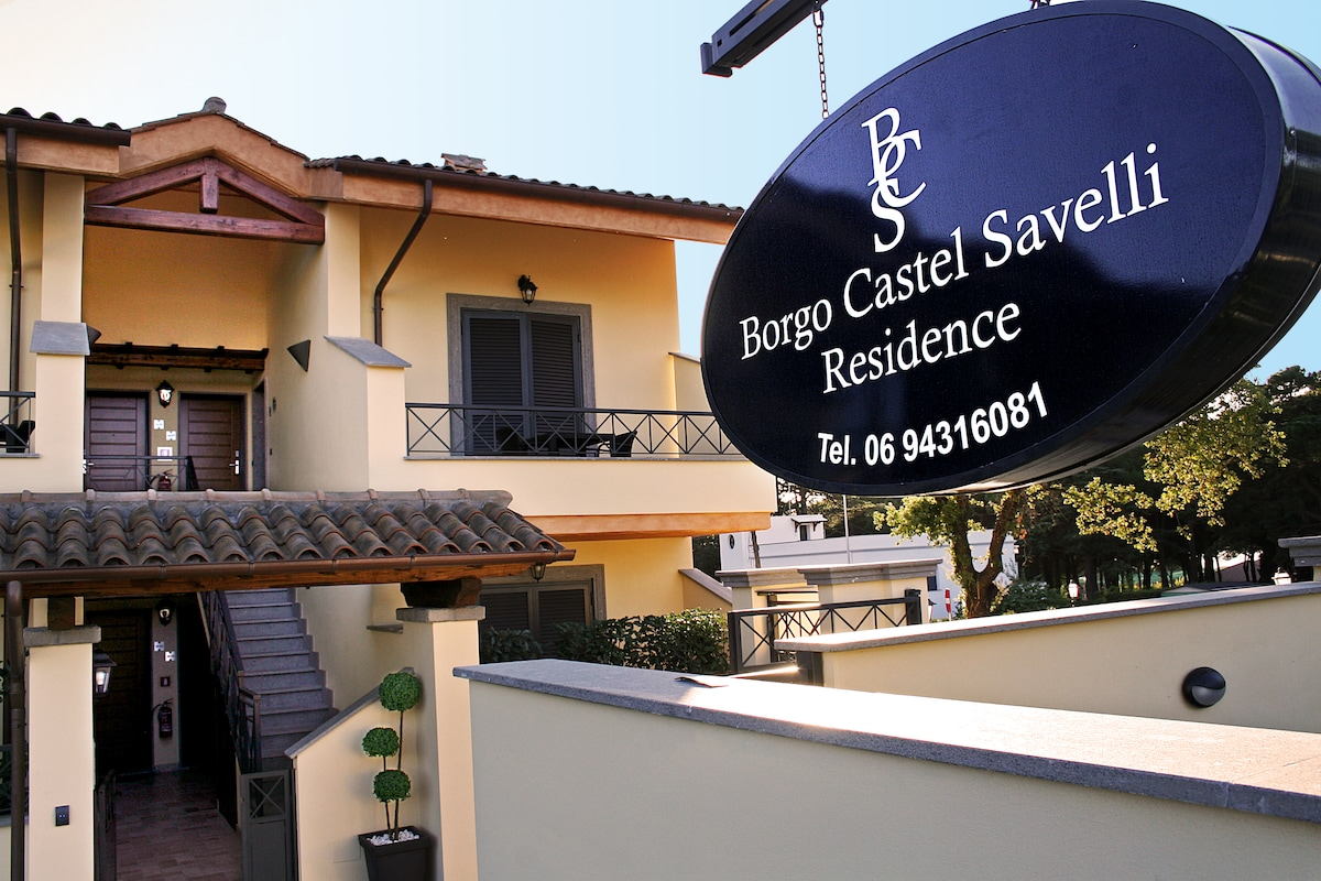 Borgo from Grottaferrata