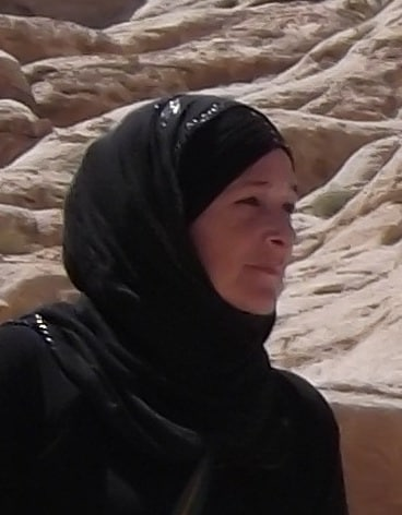Maryam Al Fakheer from Umm Sayhoun, Petra, Wadi Mousa
