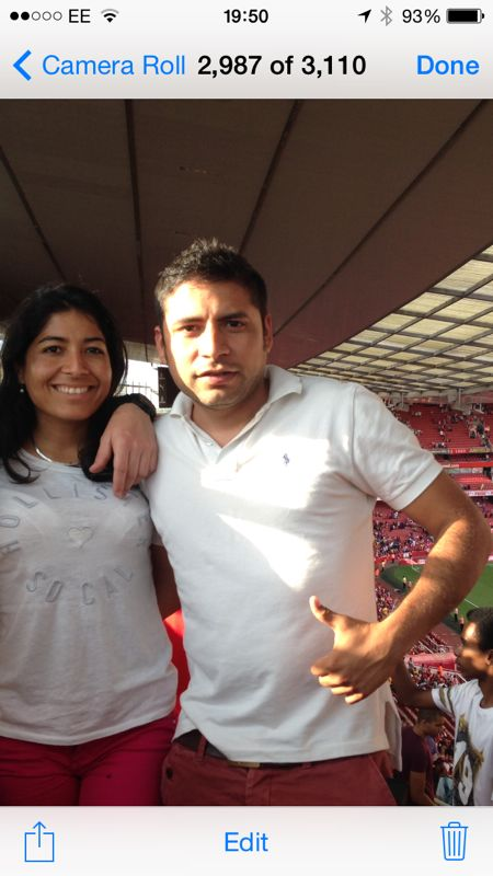 Judith & Luis from London