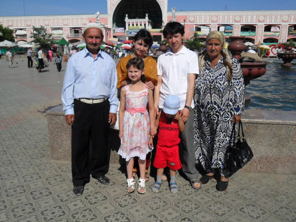 Mukhiddin from Khujand