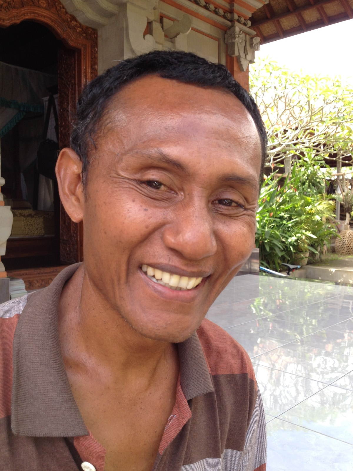 I am Balinese. I live in Pejeng, It is a small vil