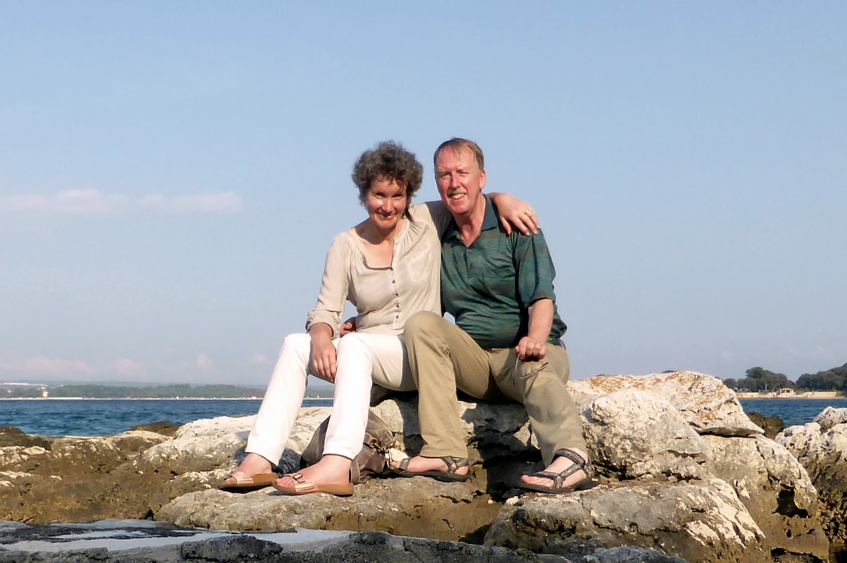 We are a Swabian couple of 50+ years. Our two chil