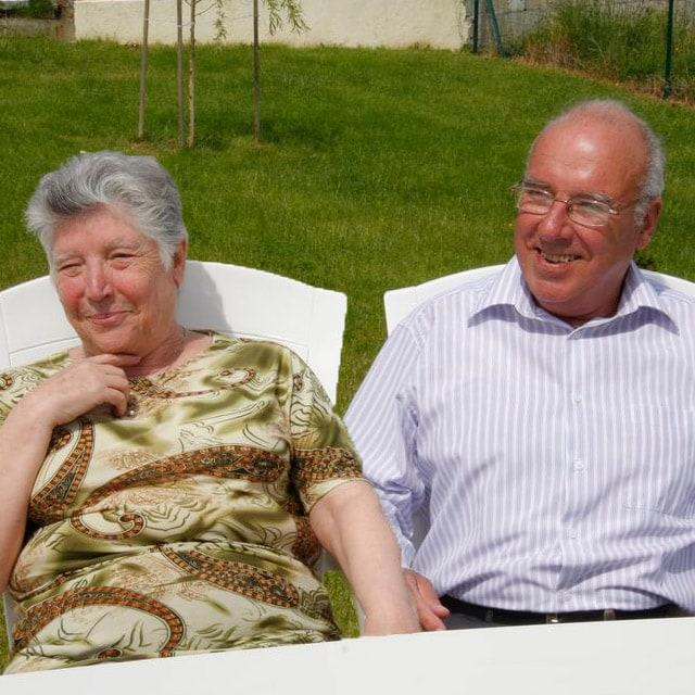 Louis Et Jacqueline From Thénac, France