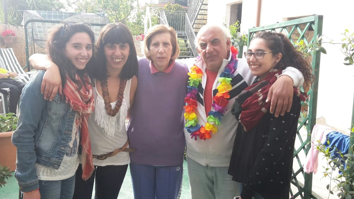 Paola´S  Family From Vico Equense, Italy