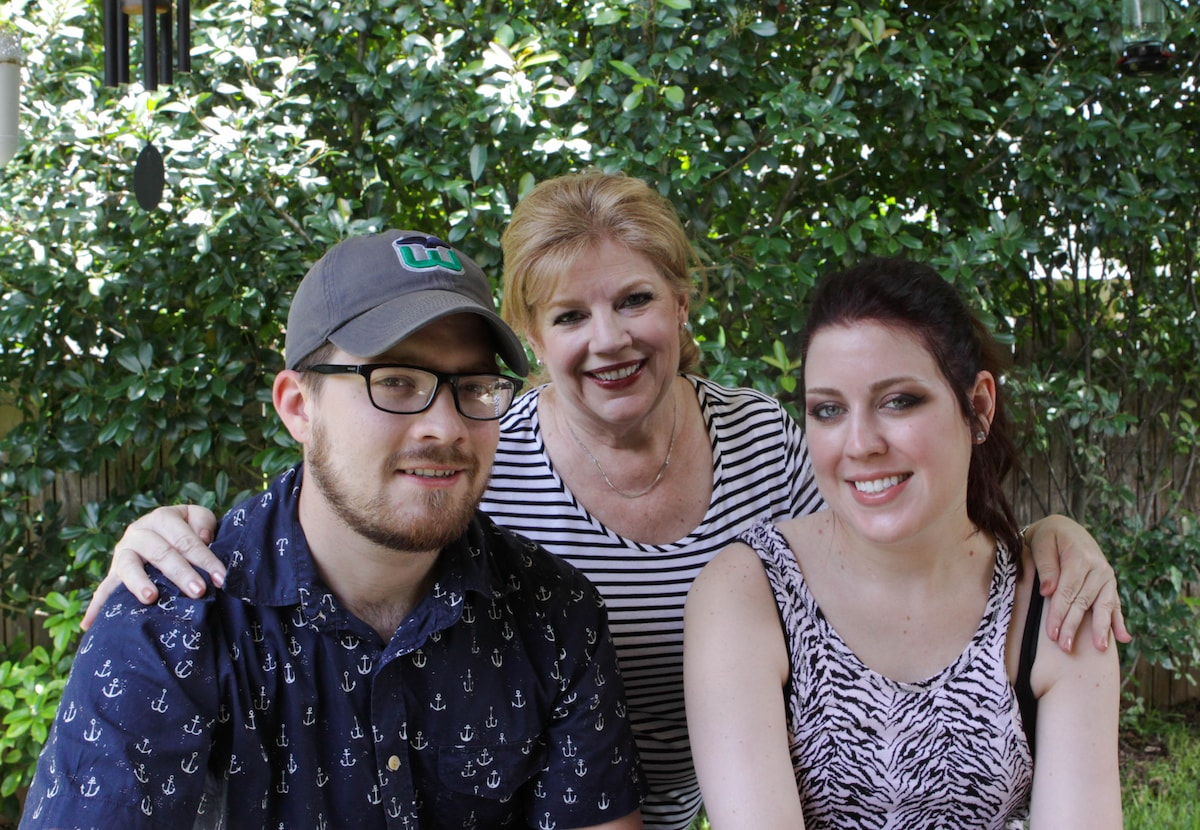 Tina, her son Jordan, and daughter Lauren, own thi