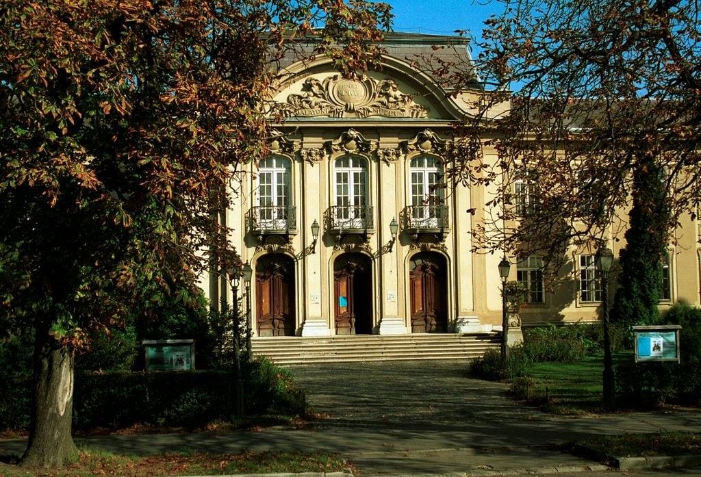 Balatoni Múzeum from Keszthely