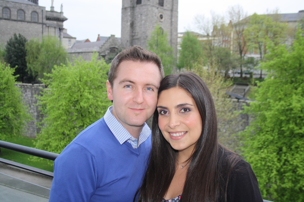 Yasmine & Colin from Dublin 8